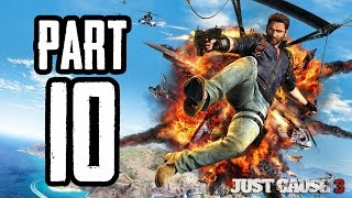 Just Cause 3   #10   Agraelus   CZ Lets Play / Gameplay [720p60] [PC]