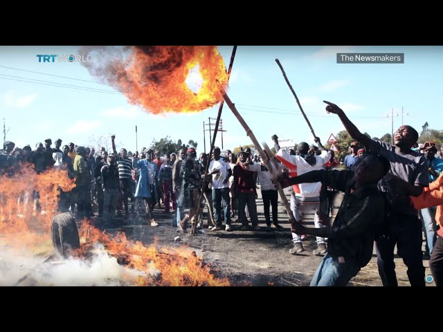 The Newsmakers: Zimbabwe Protests