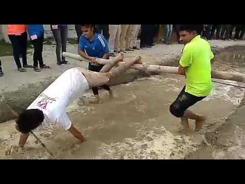 ROADIES !!! Dangerous task (PART-2) performing during college FEST!!!