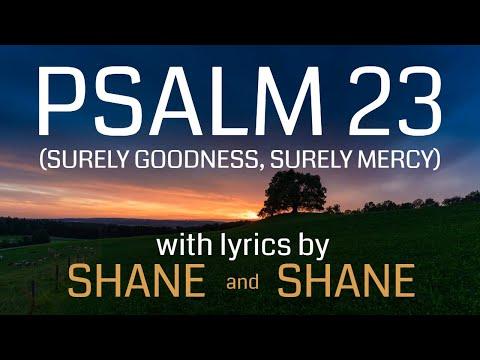Psalm 23 - Surely Goodness Surely Mercy