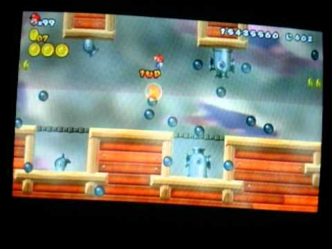 Download New Super Mario Bros Wii How To Get Infinite Items Without