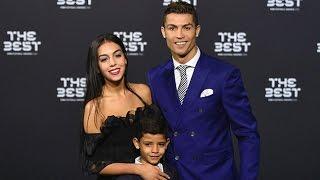 Cristiano Ronaldo And Girlfriend Georgina Shine On Green Carpet At Fifa Awards