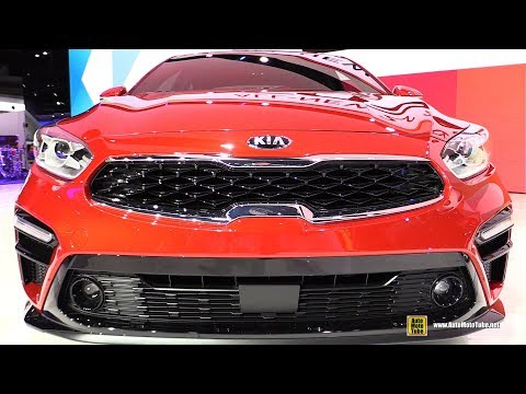 2019 KIA Forte EX - Exterior And Interior Walkaround - 2018 Detroit Auto Show