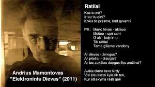 "Video thumbnail of ""Andrius Mamontovas - Ratilai"""