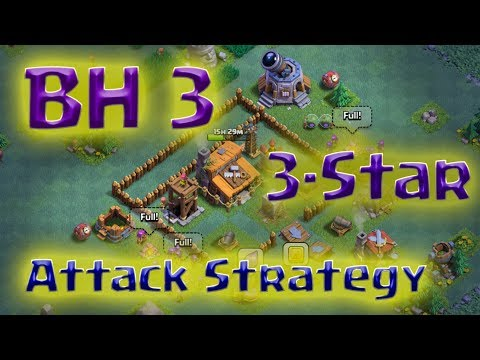 Clash Of Clans - BH3 3-Star Attack Strategy (can Defeat Horseshoe Base) Mp3