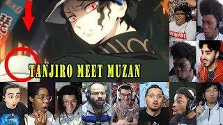 Muzan Kibutsuji  - (Demon Slayer: Kimetsu no Yaiba) - Fans react to Tanjiro meet Muzan, Kimetsu no Yaiba Episode 7 Reaction Mashup