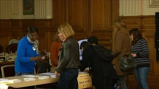 Voting underway in France