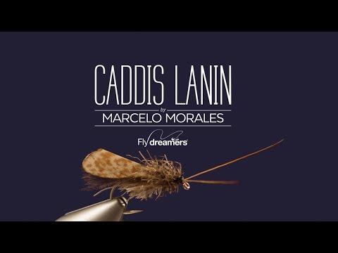 Fly Tying: Caddis Lanin