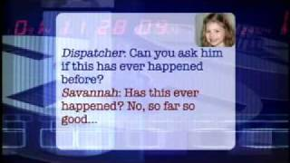 "Little girl calls 911 - Adorable - ""He can't hardly breathe"""