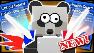 CRAFTING BOTH *OP* NEW CRIMSON AND COBALT GUARD! | Roblox Bee Swarm Simulator