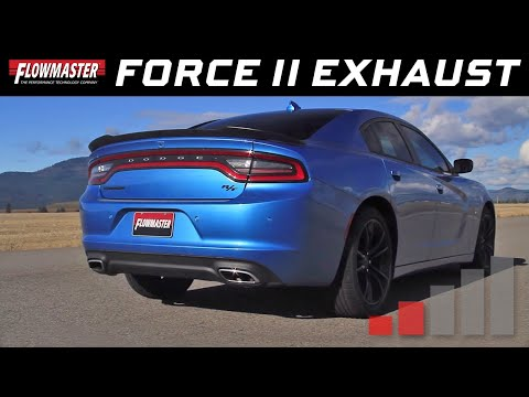 2015-16 Charger R/T, 2015-19 300, 5.7L Hemi - Force II Cat-back Exhaust System 817618