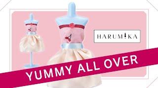 HARUMIKA|💘 Tutorial DIY 👗 ¡Crea tus propios diseños de moda! |🍒🍧Set Alta Costura Yummy All Over 🧁🍩 Trailer