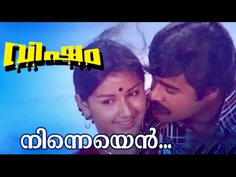 Ninneyen... | Superhit Malayalam Movie | Visham | Movie Song