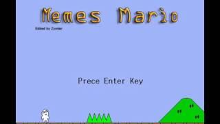Прохождение игры Memes Mario