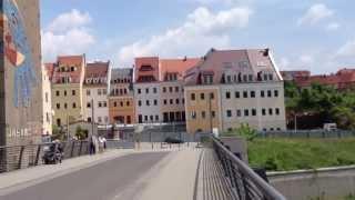 preview picture of video 'Görlitz / Zgorzelec Altstadtbrücke über die Neiße'