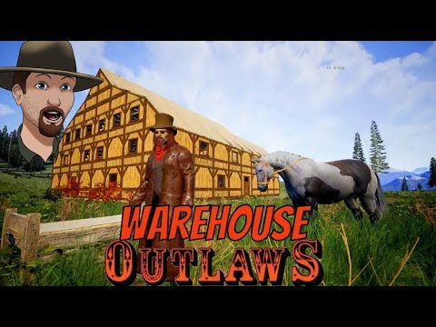 Warehouse and Train Station- OUTLAWS of the Old West S2E6