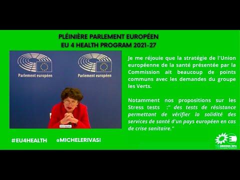 EU4HEALTH : une stratégie en cohésion avec les demandes des Verts