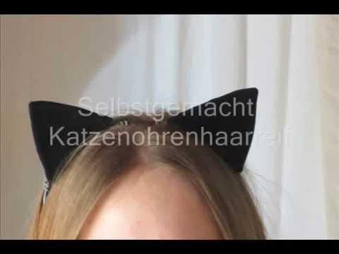 katzenohren-haarreif selbstgemacht
