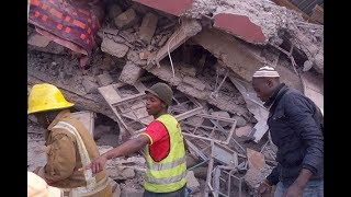 Building collapses in Ruai, people trapped - VIDEO