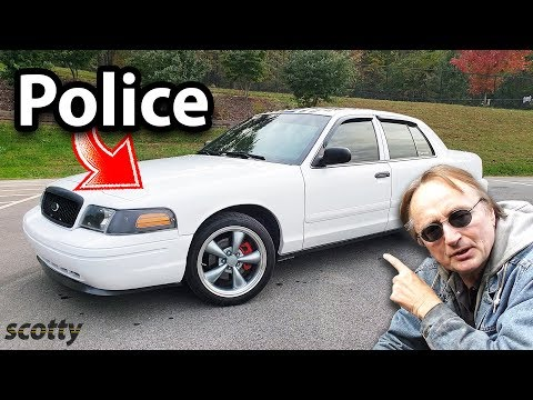 Here's Why People Buy Used Police Cars, Ford Crown Vic