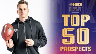 Top 50 NFL Prospects Heading Into the 2020 Draft