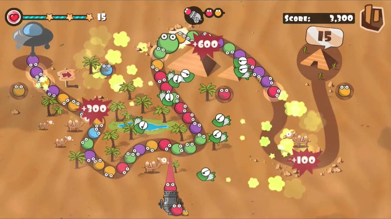 Bubble Blast Marble Renkli Top Fırlatma Oyunu Andropedi