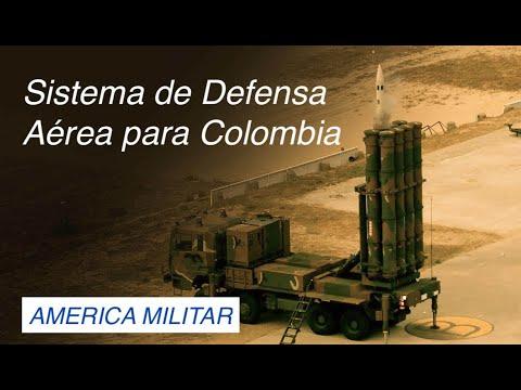 Sistema de Defensa Aérea para Colombia