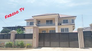New Six(6) Bedrooms Modern Style TownHouse For Sale $250K In Cape Coast, Ghana    City House