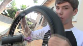 How to Change the Tire on a BMX Bike.