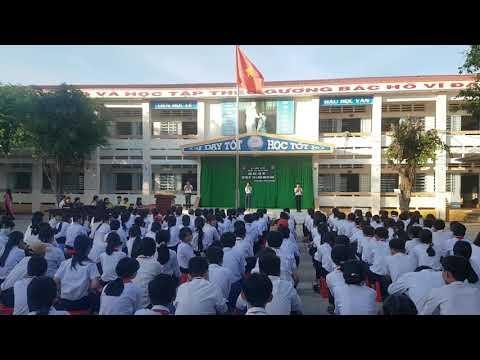 THCS Nguyễn Khuyến - Ca ngợi Tổ Quốc (Tam ca HS)