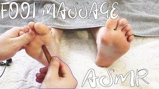 Foot Massage ASMR with OIL - ASMR FEET Trigger Massage