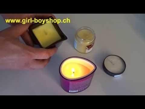 Erotische Massage Kerzen