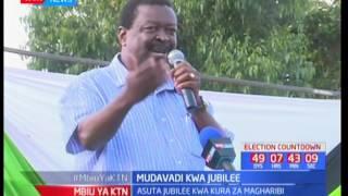 Musalia Mudavadi asema Jubilee hawana nafasi ya kupata kura Magharibi