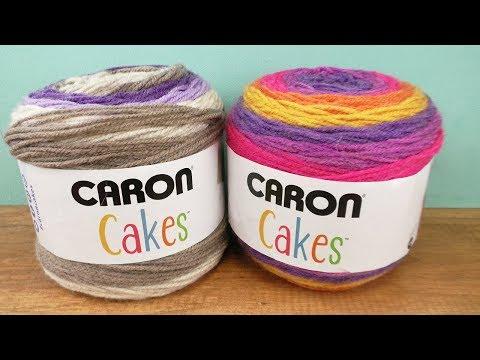 Häkeln mit Caron Cake Wolle | Einfache Schal Anleitung für Anfänger | Winter Schal mit bunter Wolle