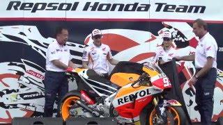 Teampresentatie 2016 Repsol Honda Team in Jakarta