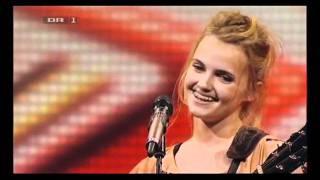"""X Factor Danmark 2012 - Ida som synger """"Lost"""" af Anouk"""