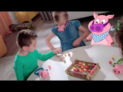 Cobi Gra Rodzinna Świńskie Ryjki | zabawkiTV