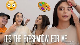 BOYFRIEND AND SISTER DO MY MAKEUP 😮