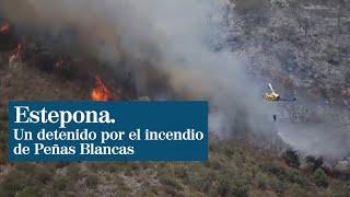 Un detenido por el incendio de Estepona y cerca de 200 evacuados