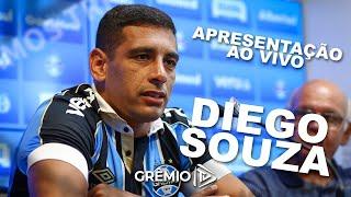 Apresentação Diego Souza - 28/01 l GrêmioTV