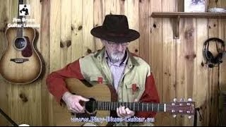 Blues Guitar Lesson - Candy Man by Reverend Gary D...