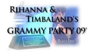 "Rihanna and Chris Brown headlines star studded Grammy Party ""Disturbia"" (HD)"