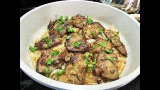 Отбивные из Говяжьей Печени,  готовлю только так. Самые вкусные и нежные!