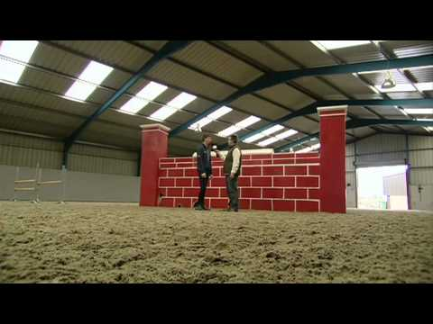 Showjumping Puissance Feature with Ben Maher & Laura Renwick - October 2008