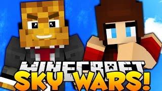 Minecraft EPIC SKYWARS - BEST WIN STREAK EVER w/ AshleyMarieeGaming