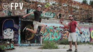 Exploration d'un BANDO en Cinewhoop (FPV)