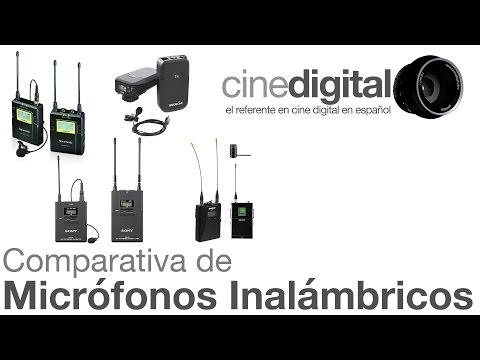 Comparativa de Micrófonos Inalámbricos - CineDigital.tv