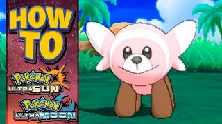 Stufful  - (Pokémon) - HOW TO GET Stufful in Pokemon Ultra Sun and Moon