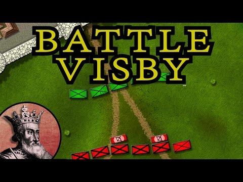Sjednocení Dánska a bitva o Visby