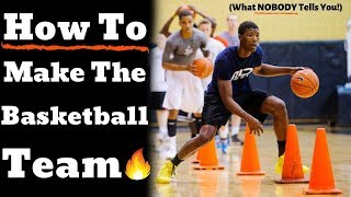 HOW TO MAKE THE BASKETBALL TEAM - Tips for Basketball Tryouts